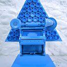 Blue Shock Box of Infinate Desires.(Curser) by Andy Nawroski