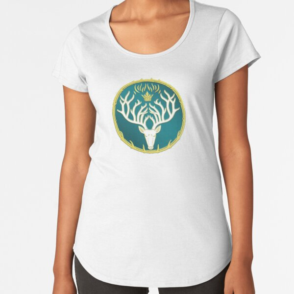 Throne of Glass Amulet of Orynth Court of Terrasen TOG  Premium Scoop T-Shirt