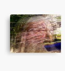 conceptual development of obliterative existence! Canvas Print