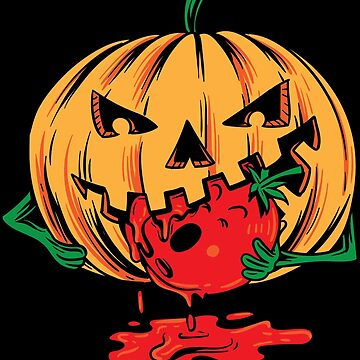 Halloween pumpikn tomato blood by WWB2017
