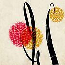 « Fleurs d'automne  » par Francyne Plante