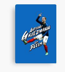 Antoine Griezmann France 'Les Bleus' - Fortnite 'L' Dance Artwork Illustration Design Canvas Print