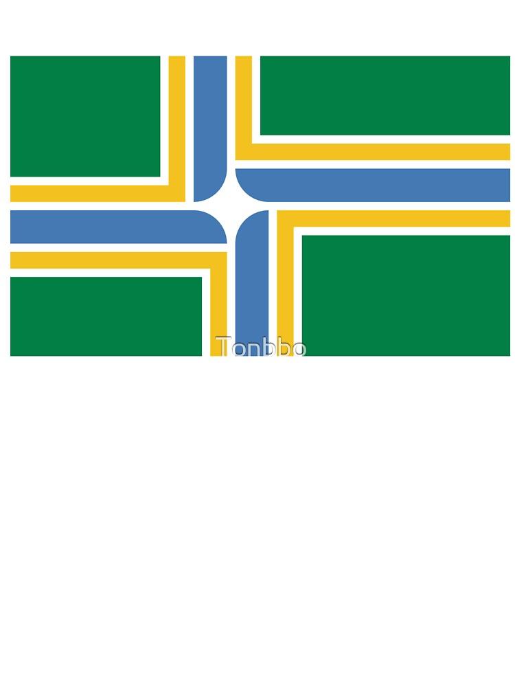 Newborn Childrens Portland Oregon City Flag Printed Long Sleeve 100/% Cotton Infants Clothes