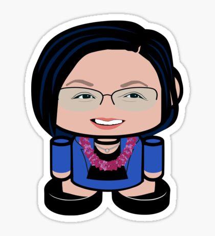 Ms. Alakaʻi POLITICO'BOT Toy Robot Sticker