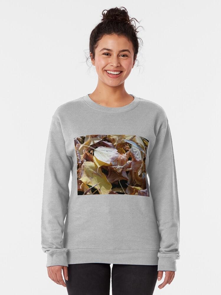Alternative Ansicht von Herbst-Laub Pullover