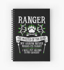 Cuaderno de espiral RANGER, El maestro de la caza - Dungeons & Dragons (Texto blanco)