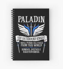Cuaderno de espiral PALADIN, EL CABALLITO DE HABLA ORIENTAL- Calabozos y Dragones (Blanco)