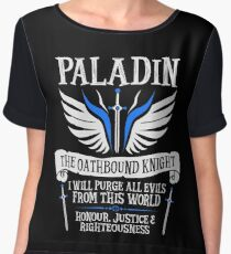 PALADIN, THE OATHBOUND KNIGHT- Dungeons & Dragons (White) Chiffon Top