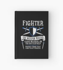 FIGHTER, THE WEAPON MASTER - Dungeons & Dragons (Black) Hardcover Journal