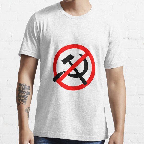 Logo anticomunista Camiseta esencial
