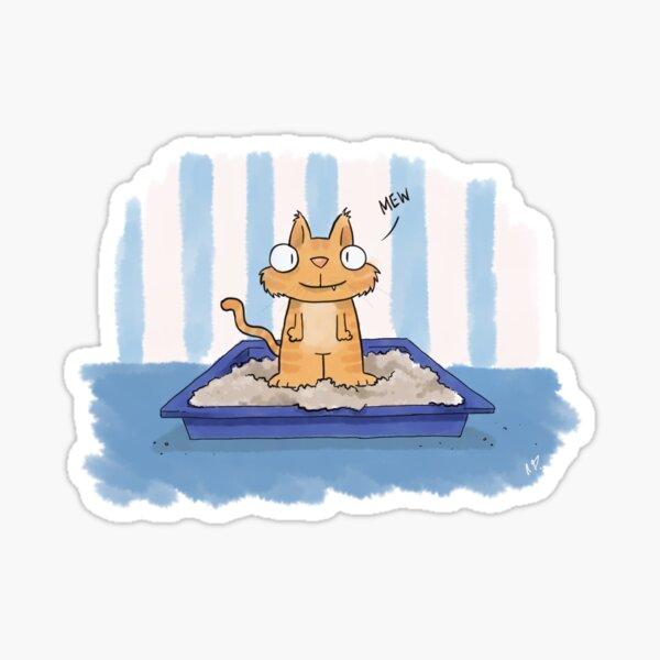 Pussy Cat Sticker