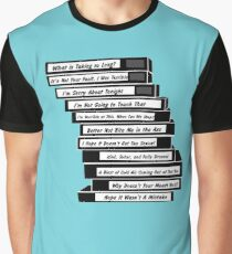Brooklyn 99 Sex Tapes Graphic T-Shirt