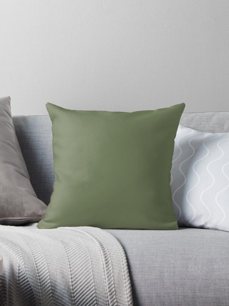 Dark Leafy Green-Solid Colour by broadmeadow