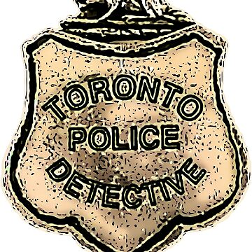 Just The Facts, Murdoch Mysteries inspired Police Badge . by michaelrodents