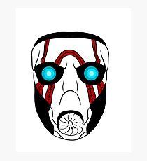 Borderlands psycho mask design Photographic Print