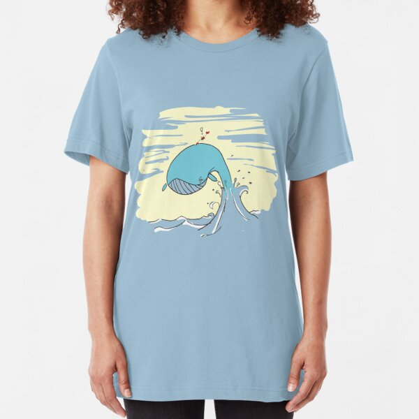 Whale Rider3 Slim Fit T-Shirt