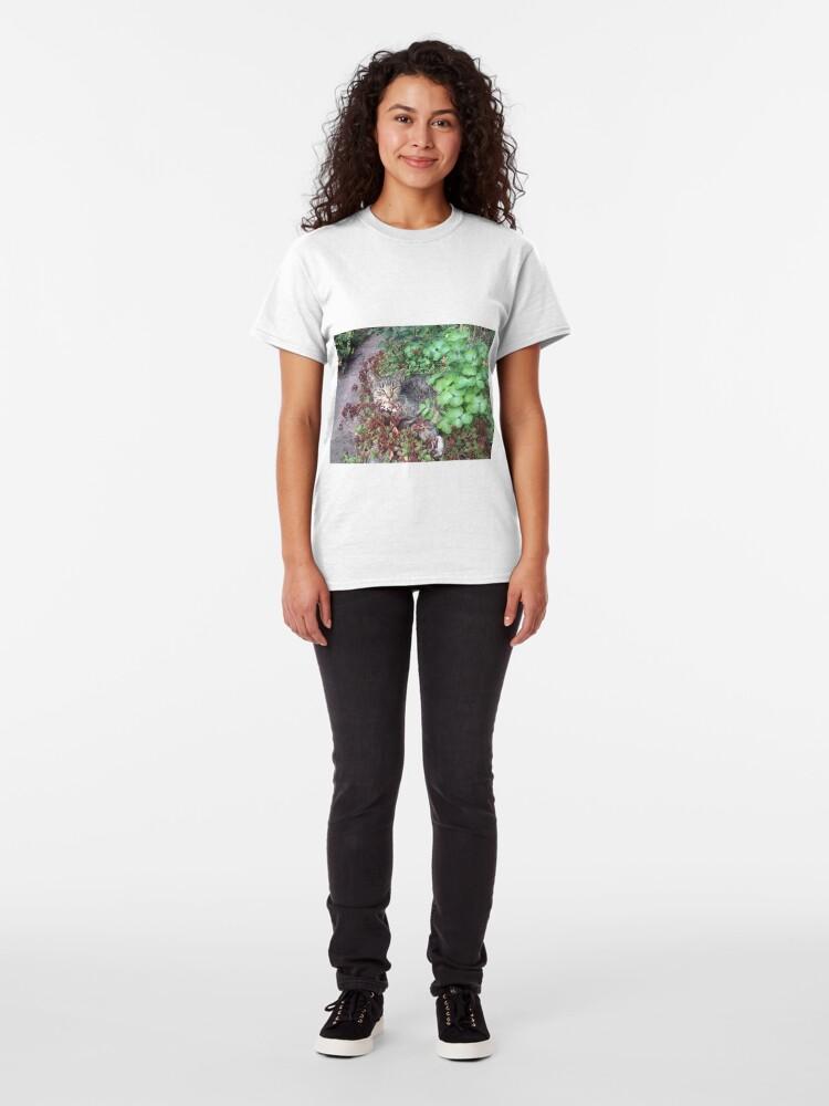 Alternative Ansicht von Katze Moritza Classic T-Shirt