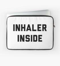 Inhaler inside Laptop Sleeve
