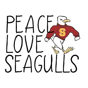 Peace, Love, Seagulls by swagner96