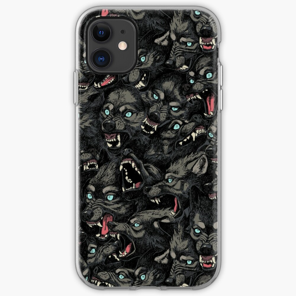 Wolf Pack Pattern iPhone Case & Cover