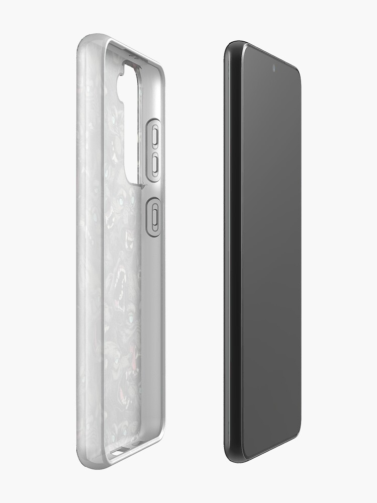 Alternate view of Wolf Pack Pattern Case & Skin for Samsung Galaxy