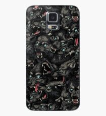 Wolf Pack Pattern Case/Skin for Samsung Galaxy