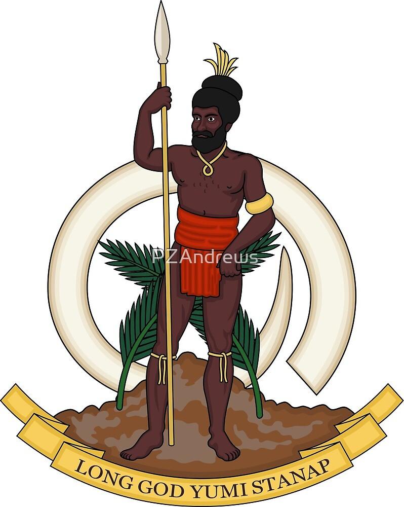 Coat of Arms of Republic of Vanuatu by PZAndrews