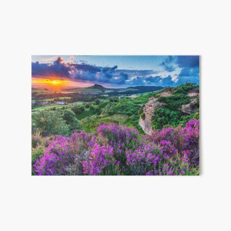 Roseberry Topping Sunset Art Board Print