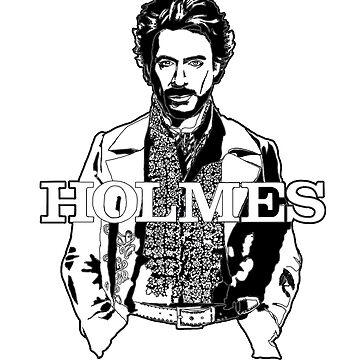Robert Downey Junior as Scherlock Holmes Pen Drawing by ilmagatPSCS2