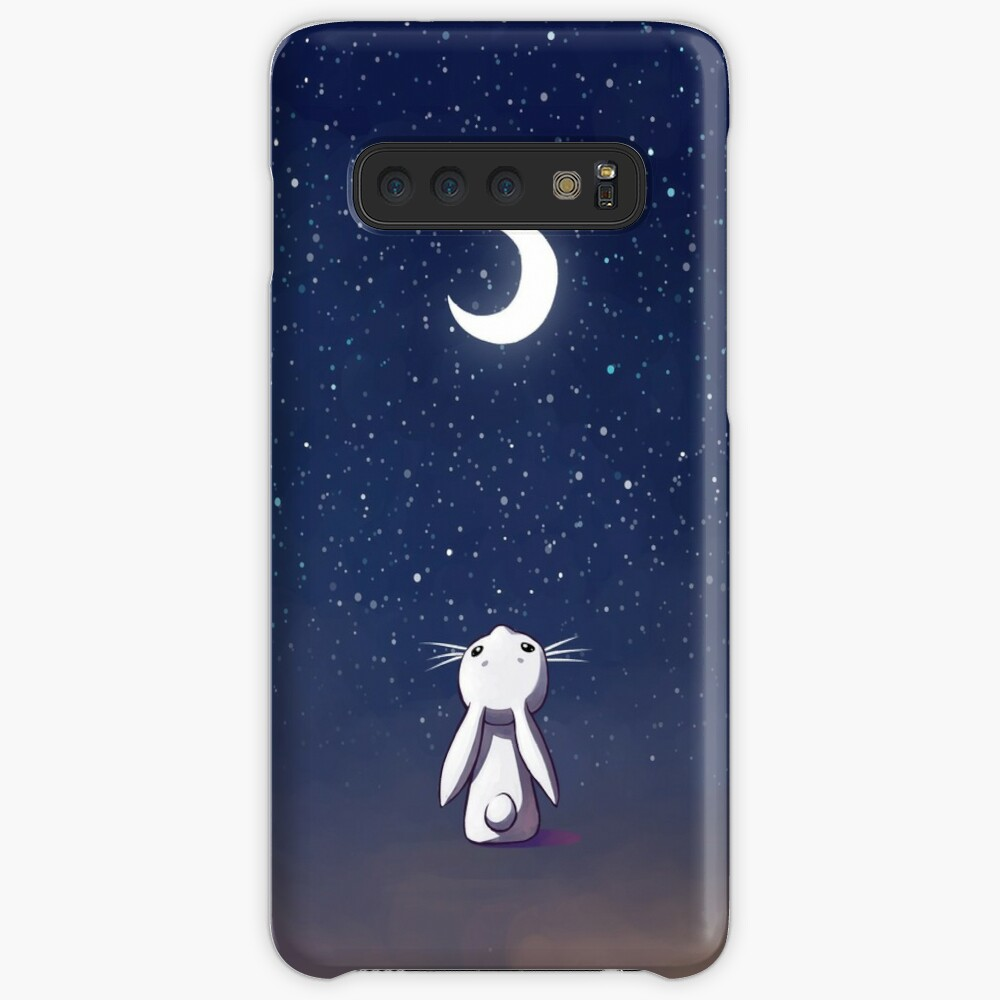 Moon Bunny Case & Skin for Samsung Galaxy