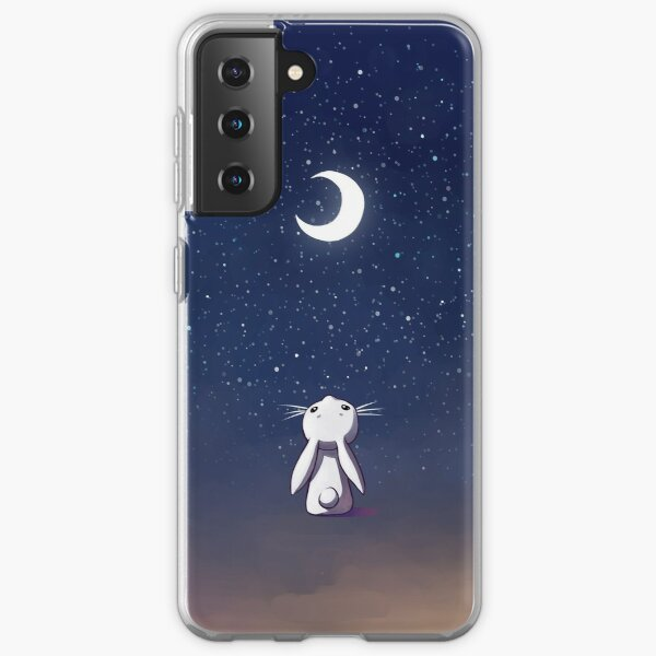 Moon Bunny Samsung Galaxy Soft Case