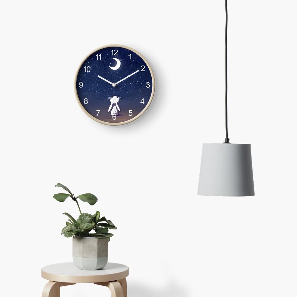 Mondhase Uhr