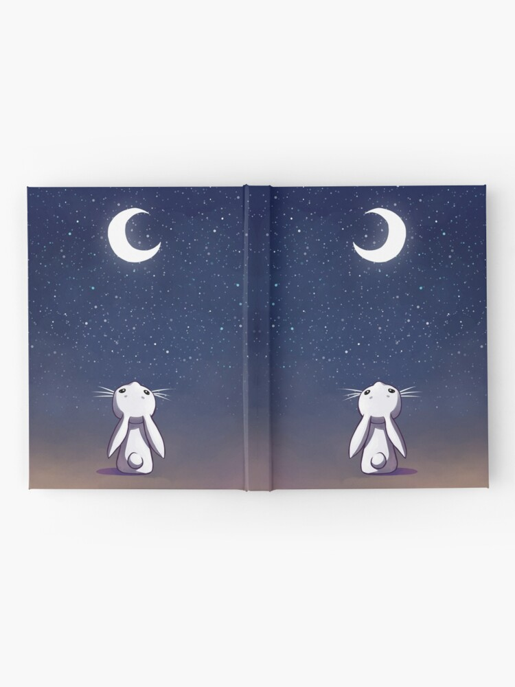 Alternate view of Moon Bunny Hardcover Journal