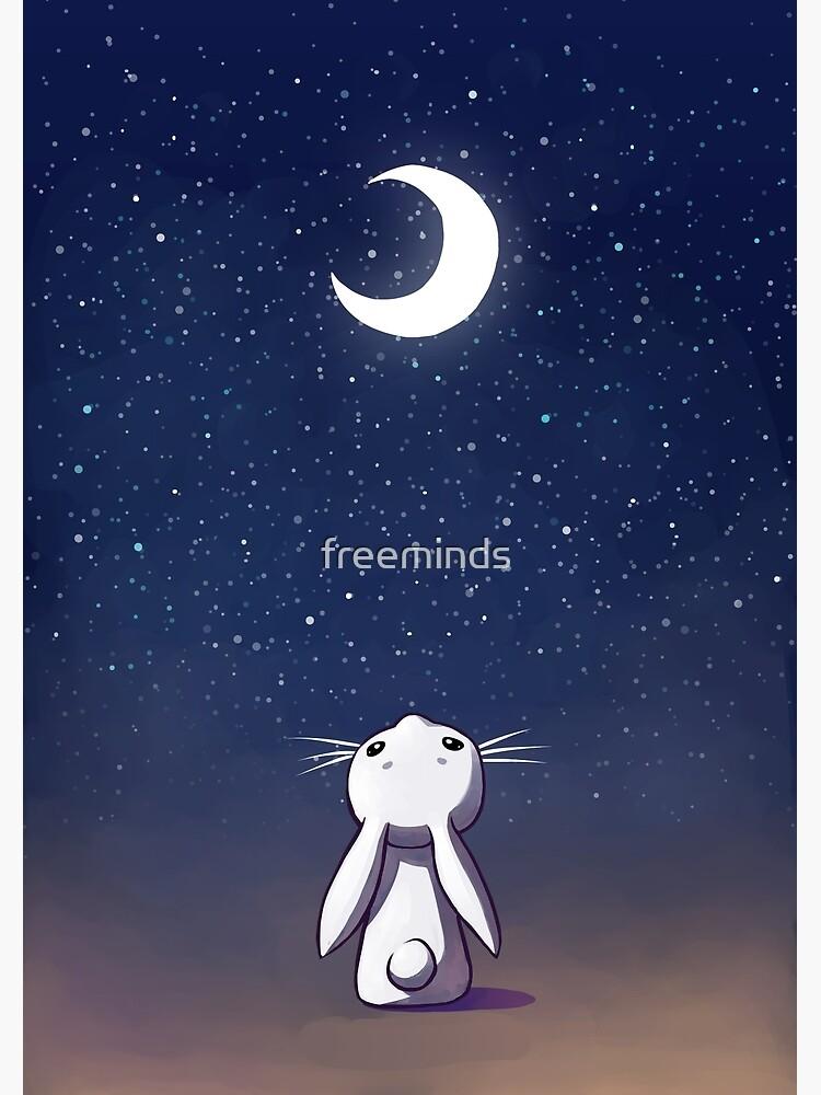 Moon Bunny de freeminds