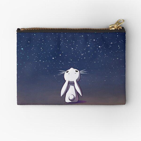 Moon Bunny Zipper Pouch