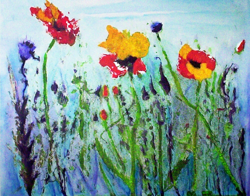 WILDFLOWERS by ANNETTE HAGGER