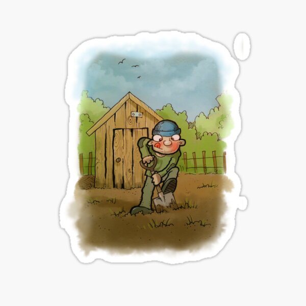 Farmer Giles Sticker