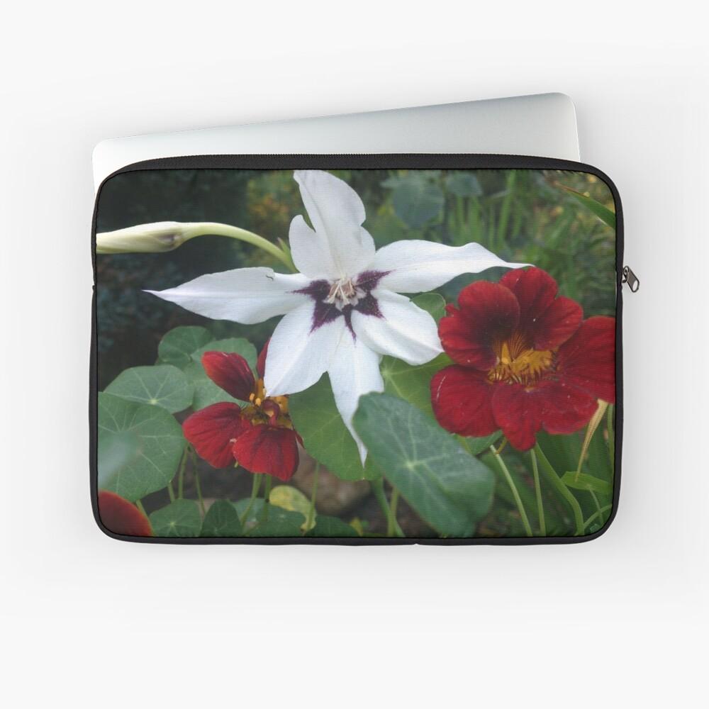 Blüten Laptoptasche