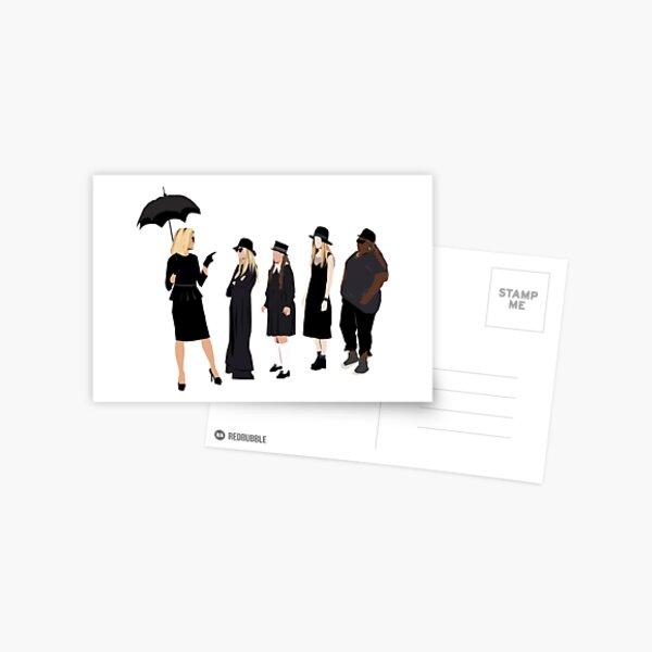 Les sorcières Carte postale