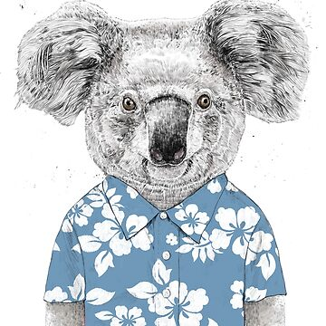 Summer koala (blue) by soltib