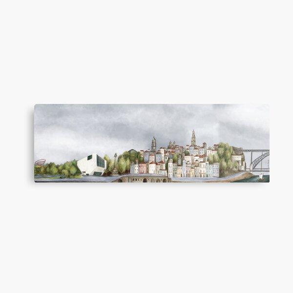 Porto landscape Metal Print