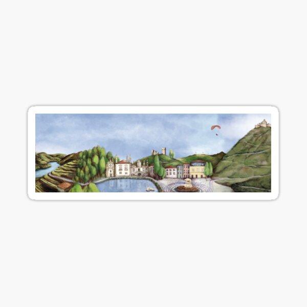 Vila Real landscape Sticker