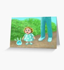 Smaller than me Greeting Card