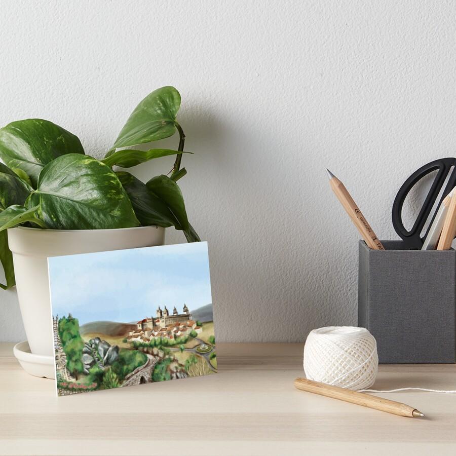 Viseu landscape Art Board Print