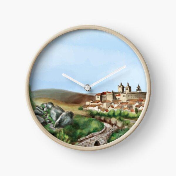 Viseu landscape Clock
