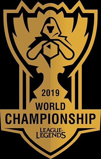 '2019 LEAGUE OF LEGENDS WORLD CHAMPIONSHIP' Poster by sleketebh