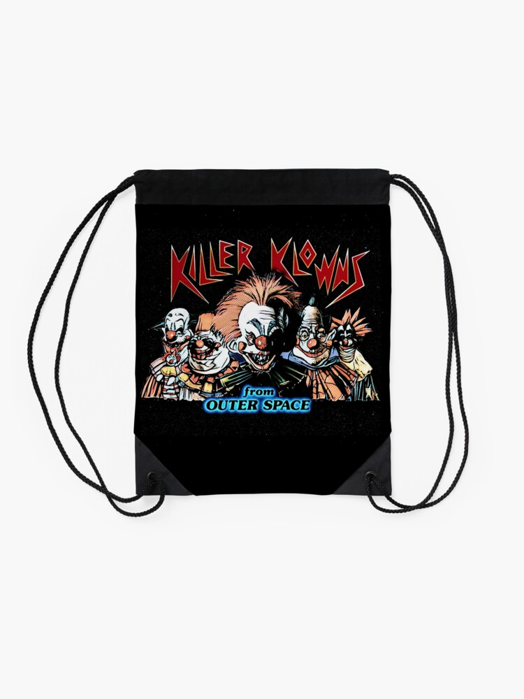 Alternate view of Killer klowns from outerspace Drawstring Bag