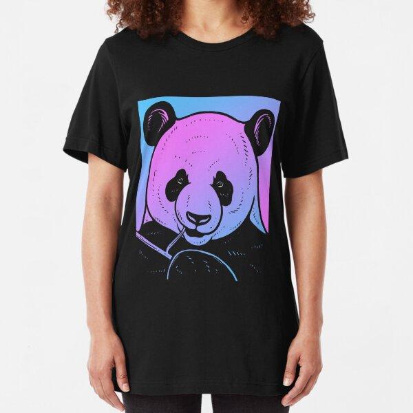 Queen of Cases Panda Bears Mens Button Down Short Sleeve Shirt