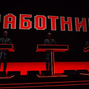 "Kraftwerk performing ""The Robots"" by Xcess"