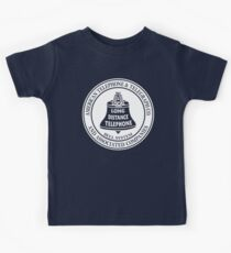 Vintage American Telephone and Telegraph - Bell System Kids Tee